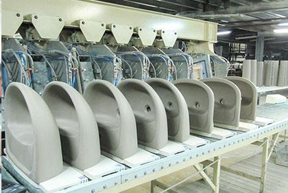 Pressure casting plant H2