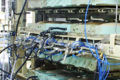 Pressure casting plant ML