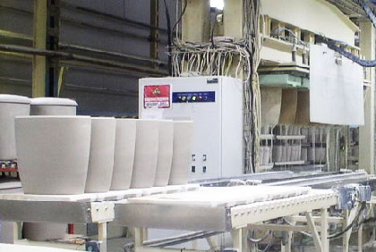Pressure casting plant MT