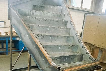Forma na výrobu prefabrikovaných schodišť