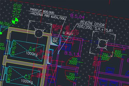 Gebäudezeichnung